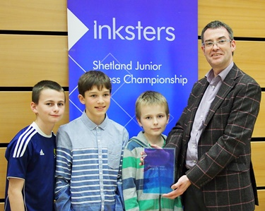 Inksters Shetland Junior Chess Champions 2013