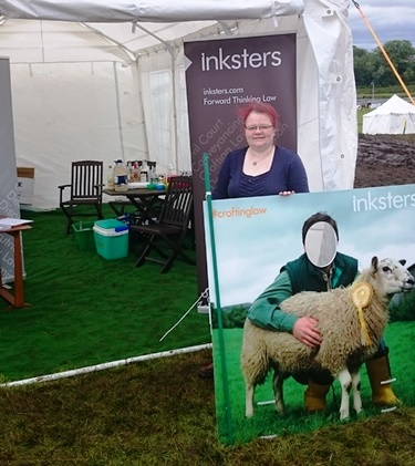 Caithness County Show - Inksters - Stand - Sylvia MacLennan