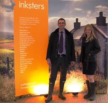 Inksters Pop-Up Crofting Law at the Black Isle Show