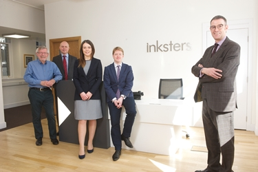 Inksters Crofting Law A-Team - Martin Minton, Angus Mackay, Brian Inkster, Evonne Morrison and Derek Flyn