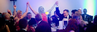 Mexican Wave - Law Awards of Scotland 2014