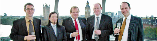 Brian Inkster, Iain G. Mitchell QC, Jimmy Moncrieff, David McLean & Nick Holroyd