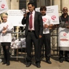 Quality Solicitors Organisation protest against 'Tesco Law'