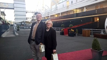 Royal Yacht Britannia - Thrive for Business - Brian Inkster and Michelle Hynes