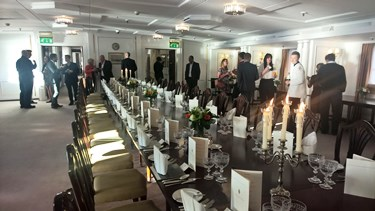 Royal Yacht Britannia - Thrive for Business - Inksters - Dinning Room