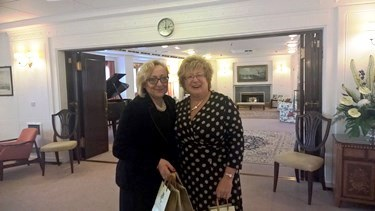 Royal Yacht Britannia - Thrive for Business - Inksters - Michelle Hynes and Jane Finnigan