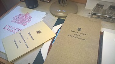 Royal Yacht Britannia - Thrive for Business - Inksters - Royal Tour